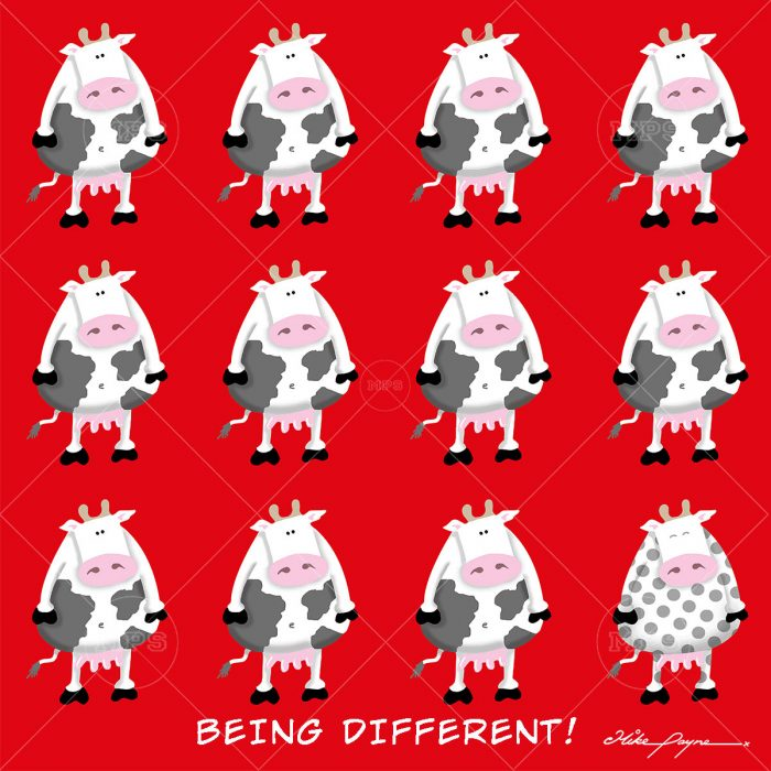 004 BEING DIFFERENT
