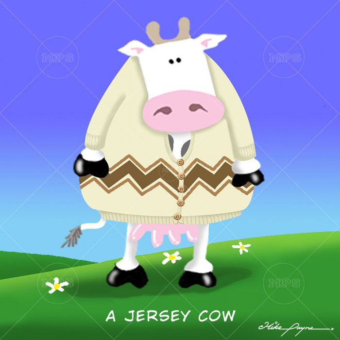 006 A JERSEY COW
