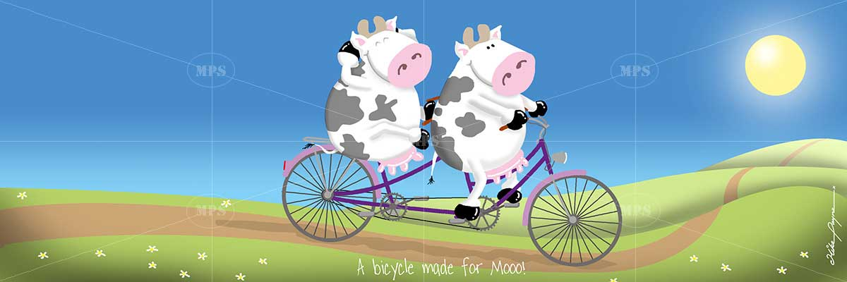 007 A BICYCLE MADE FOR MOOO - Just 4 Mooo