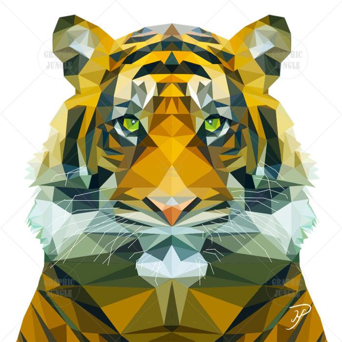01 TIGER SQUARE WHITE