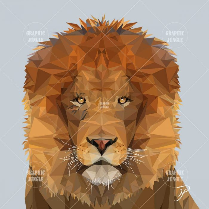 04 LION - Graphic Jungle