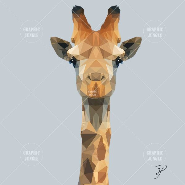 06 GIRAFFE - Graphic Jungle