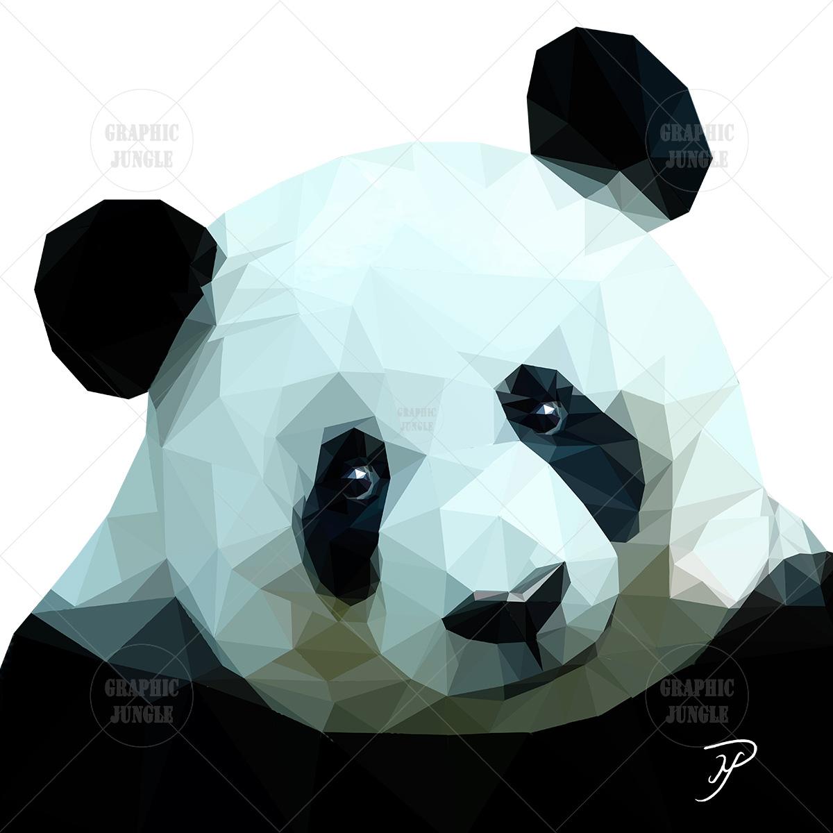 18 PANDA SQUARE WHITE