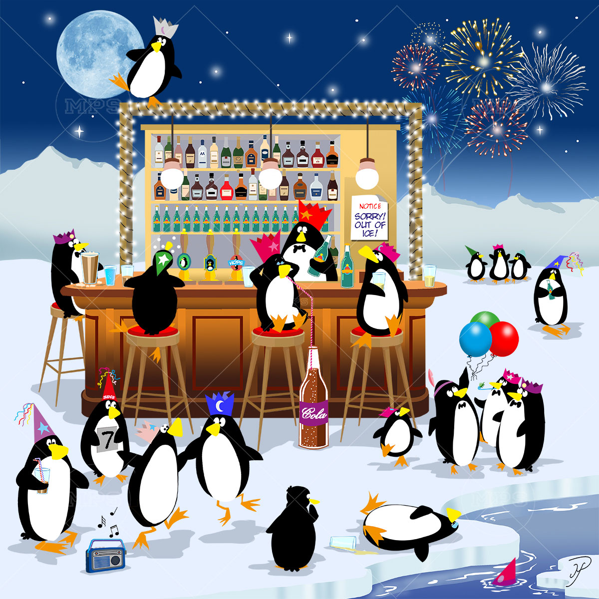 An Ice Party