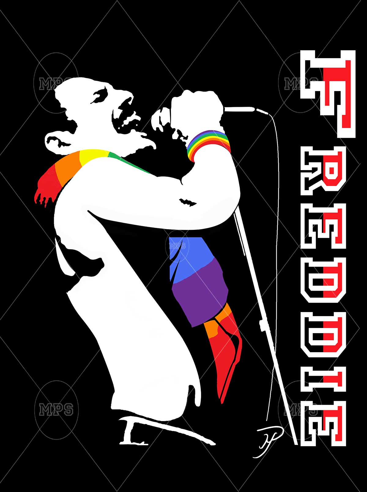 FREDDIE - Pop Art