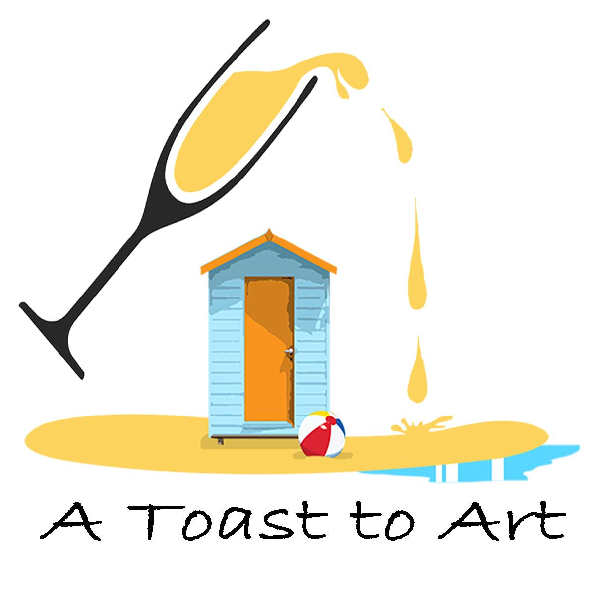 Toast to Art Logo