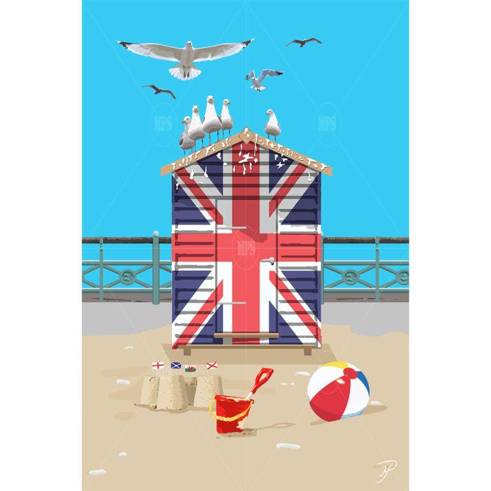 UK Beach Hut