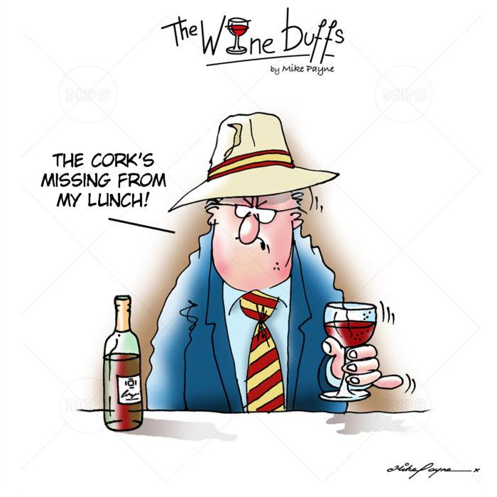 Wine Buffs Cartoon 002