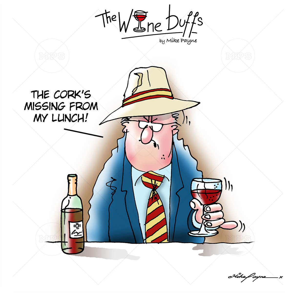 Wine Buffs Cartoon 002