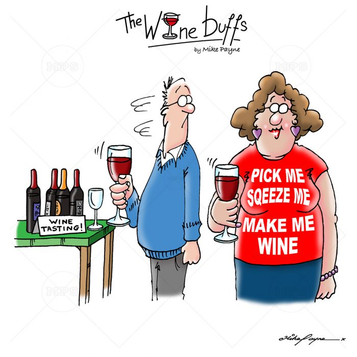 Wine Buffs Cartoon 004