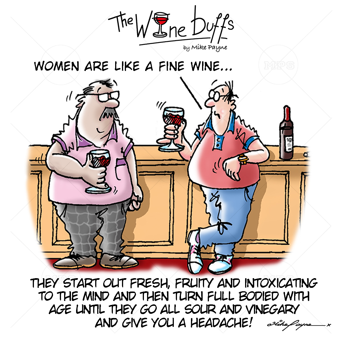 Wine Buffs Cartoon 005