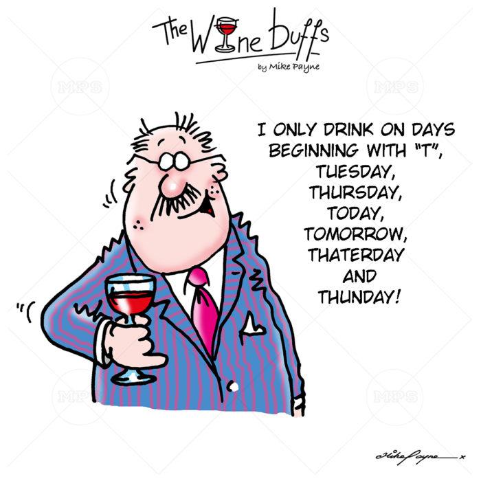 Wine Buffs Cartoon 007