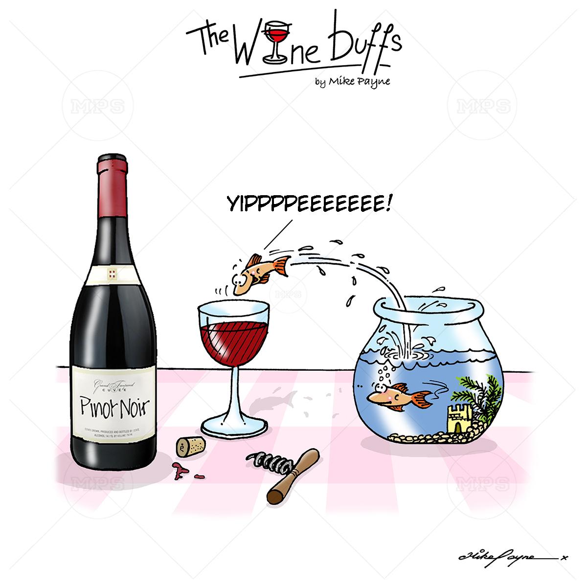 Wine Buffs Cartoon 009