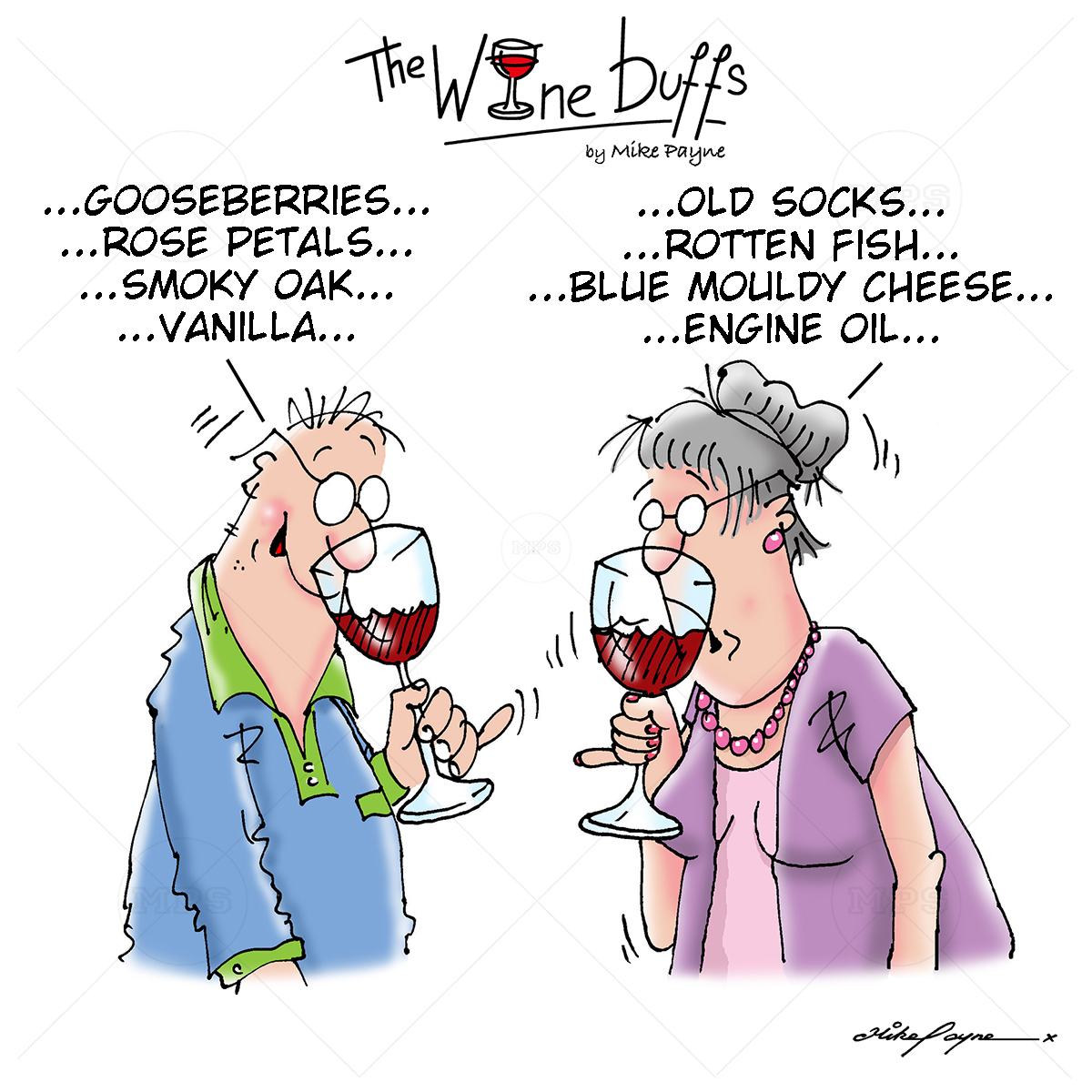 Wine Buffs Cartoon 010