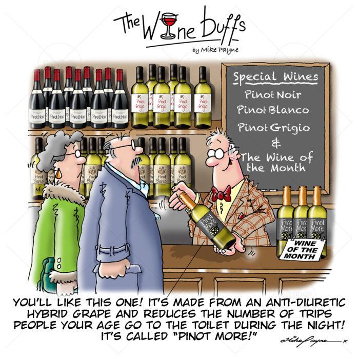 Wine Buffs Cartoon 011