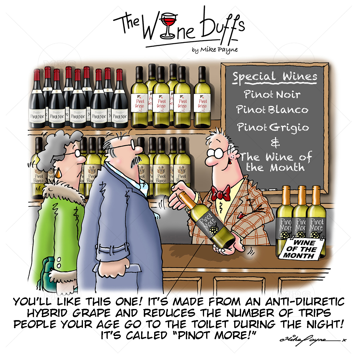 Wine Buffs Cartoon 011