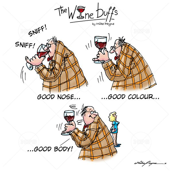 Wine Buffs Cartoon 012