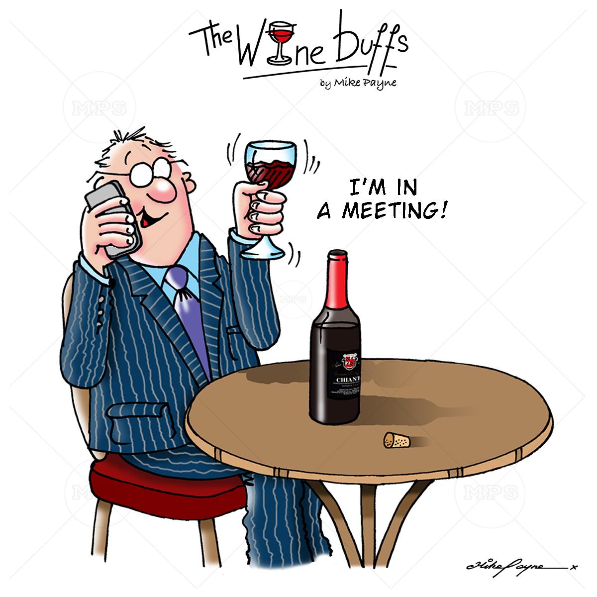 Wine Buffs Cartoon 013