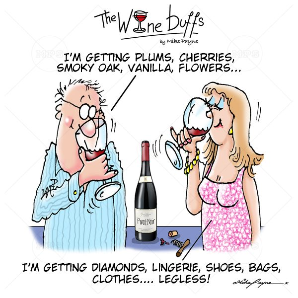 Wine Buffs Cartoon 014