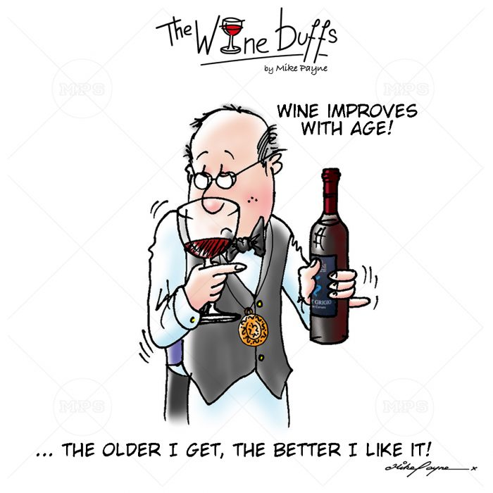 Wine Buffs Cartoon 015