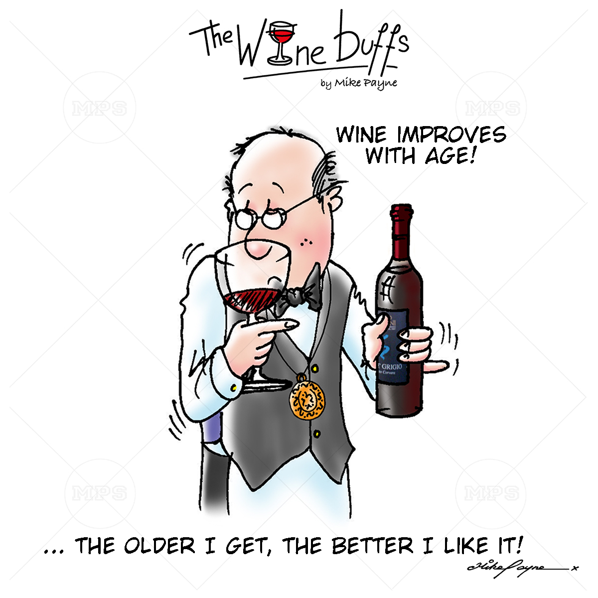 Wine Buffs Cartoon 015