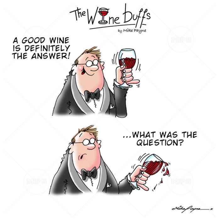 Wine Buffs Cartoon 016