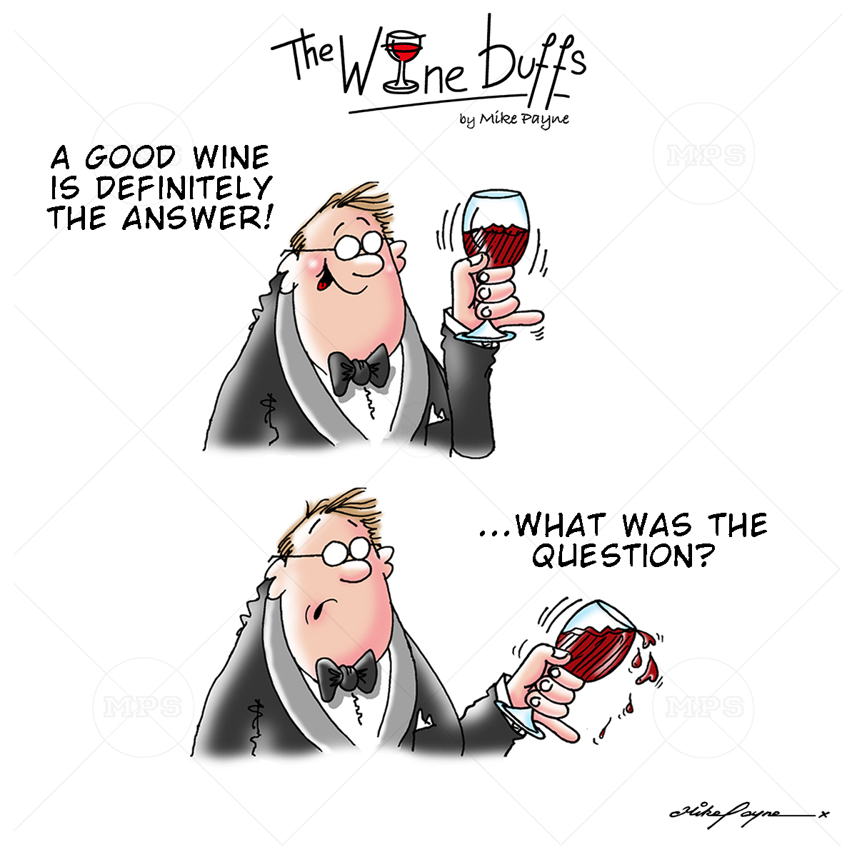 Wine Buffs Cartoon 016