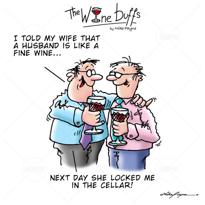 Wine Buffs Cartoon 017