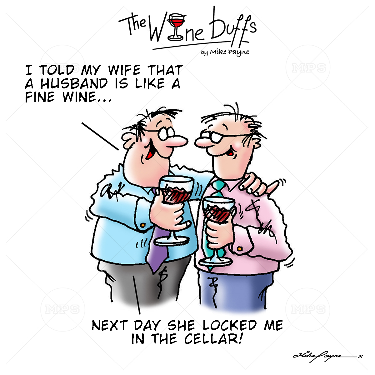 Wine Buffs Cartoon 017