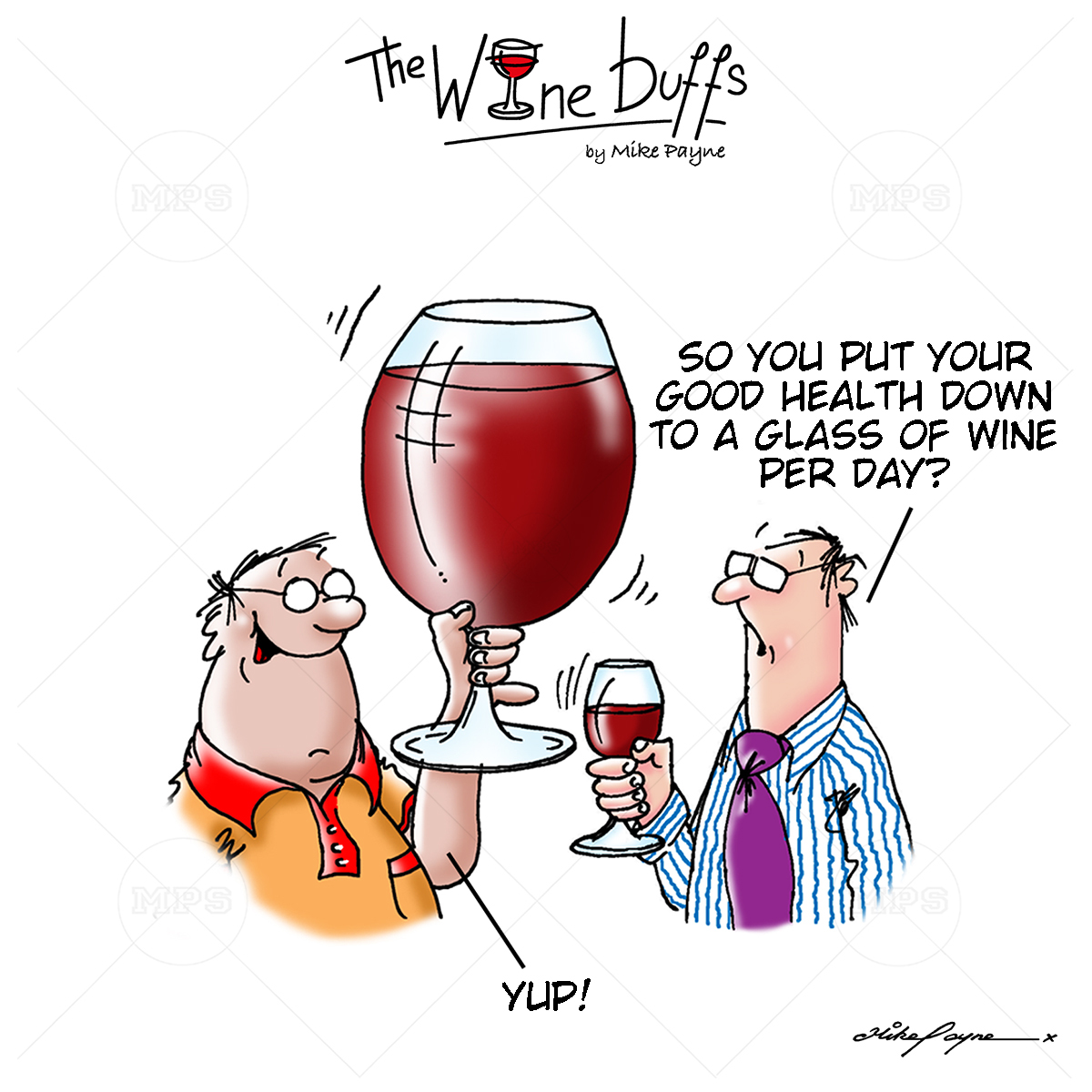 Wine Buffs Cartoon 018