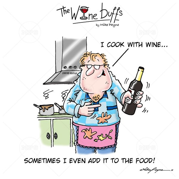 Wine Buffs Cartoon 020