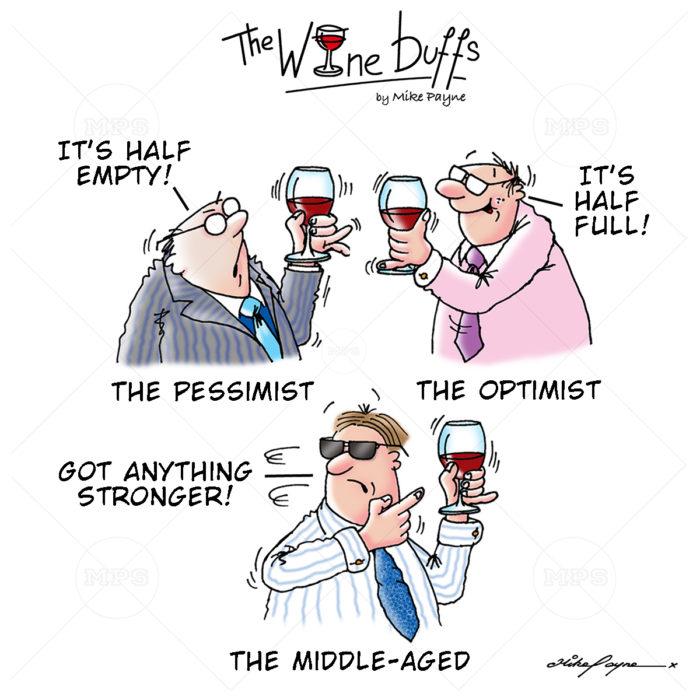 Wine Buffs Cartoon 021
