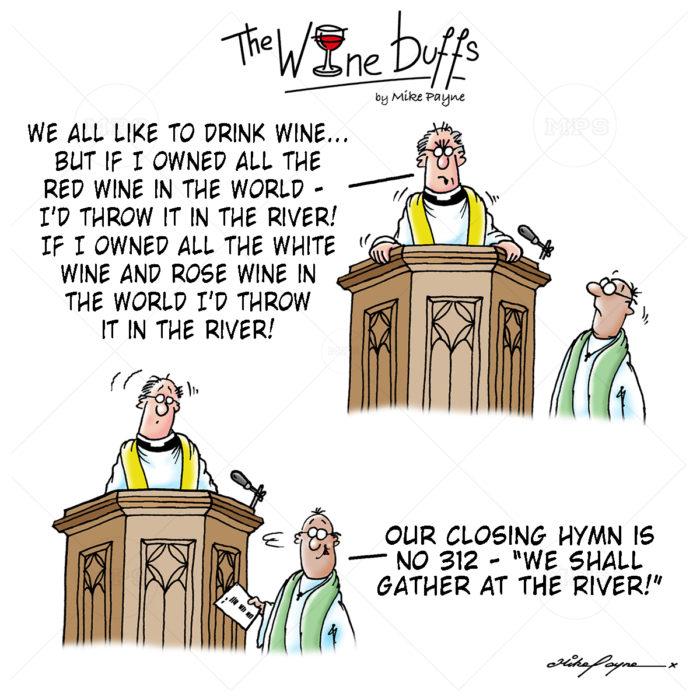 Wine Buffs Cartoon 022