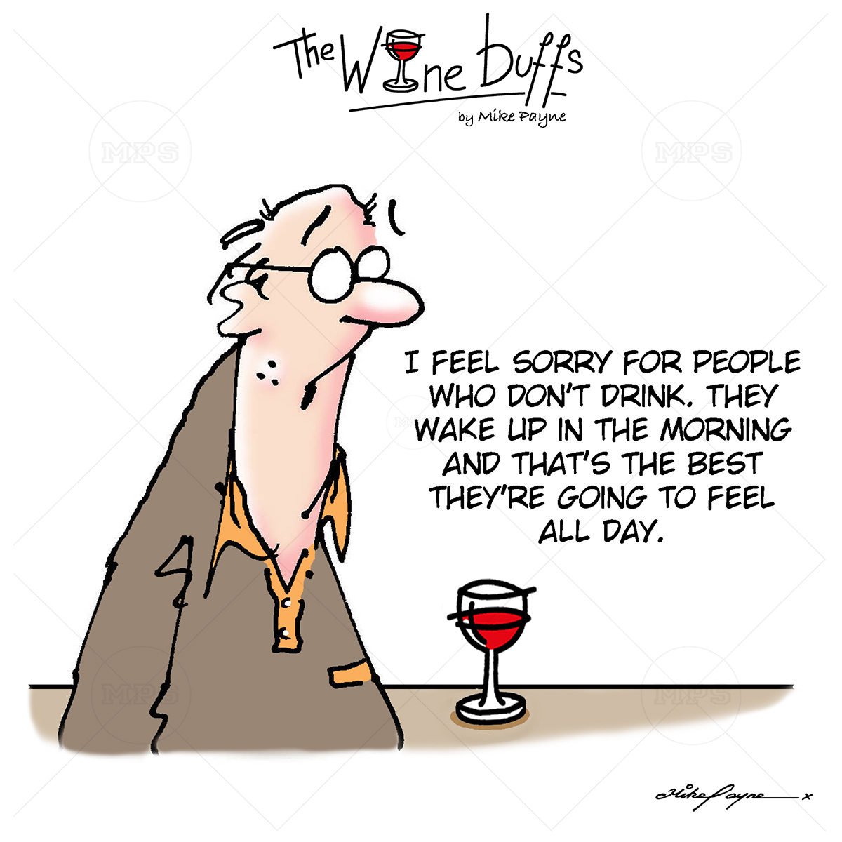 Wine Buffs Cartoon 023