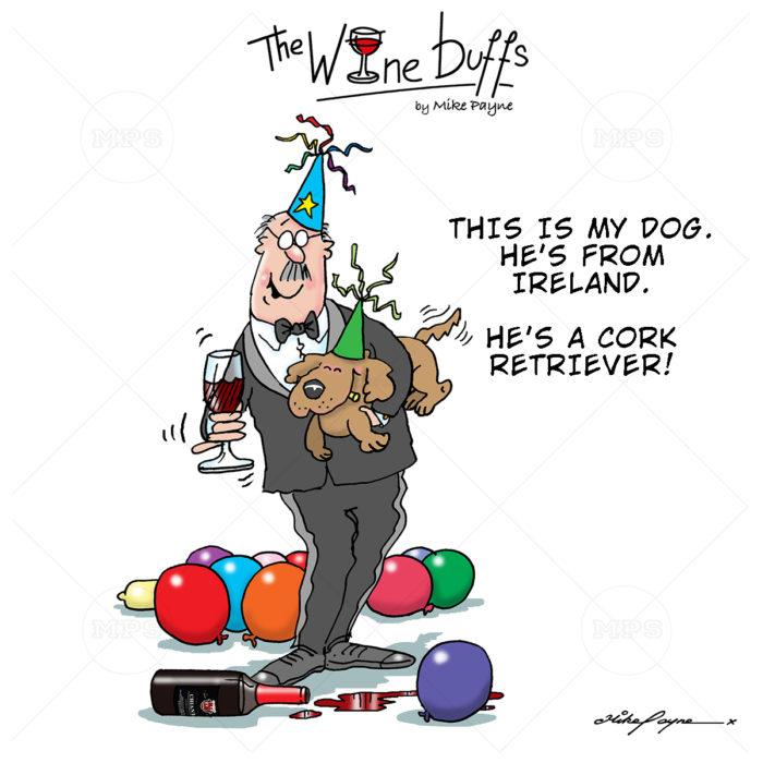 Wine Buffs Cartoon 024