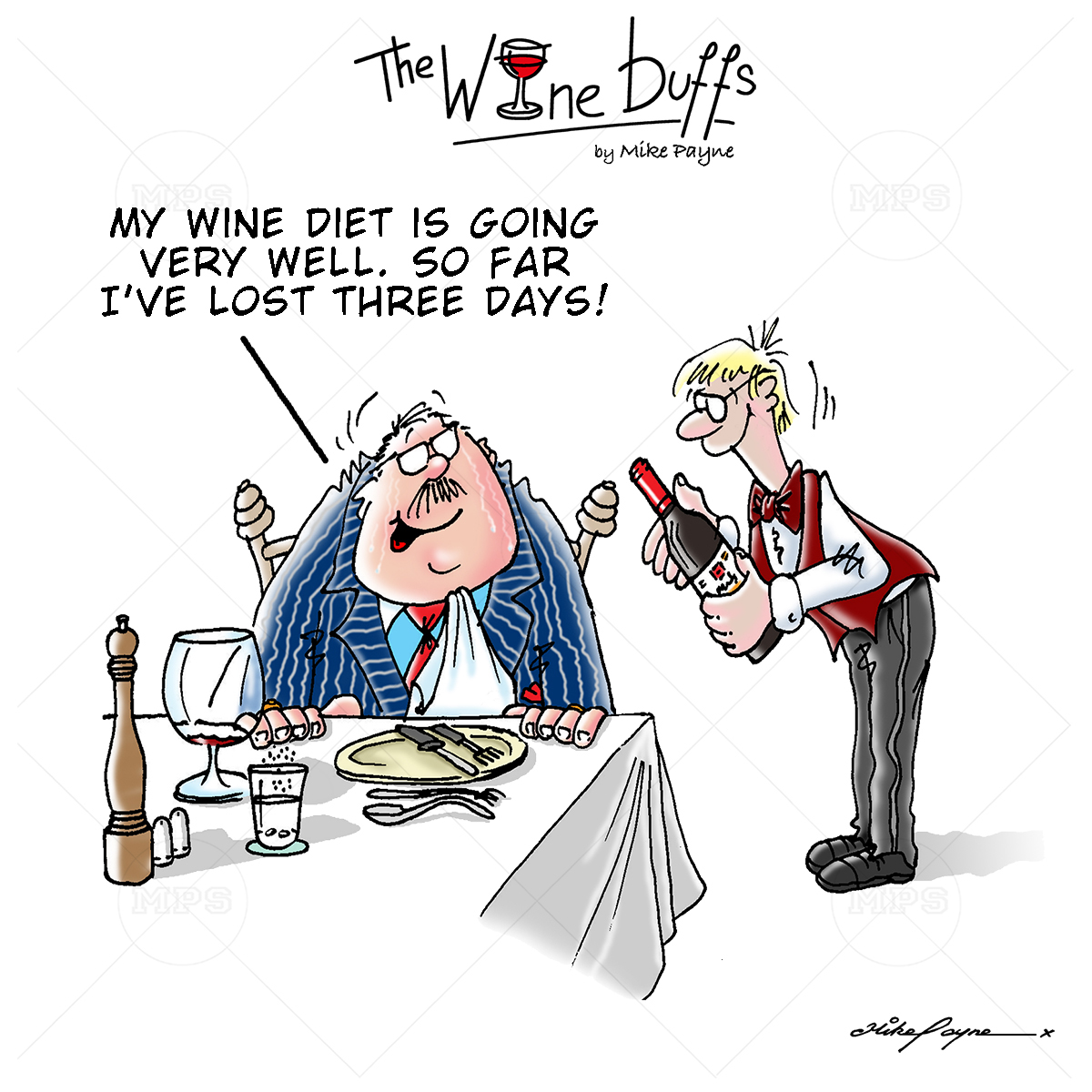 Wine Buffs Cartoon 025