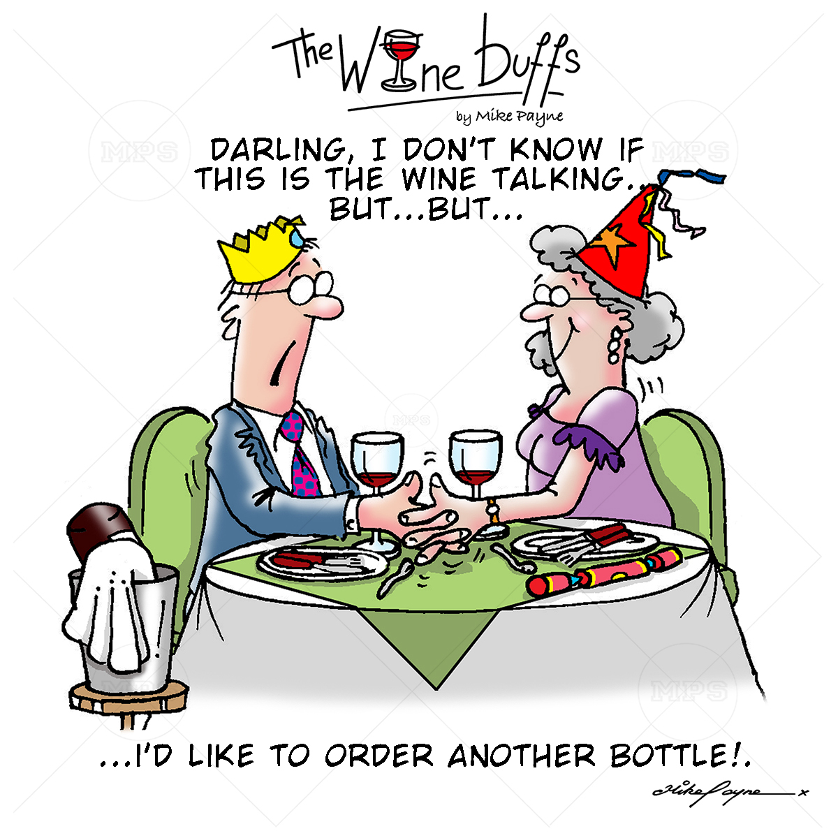 Wine Buffs Cartoon 026