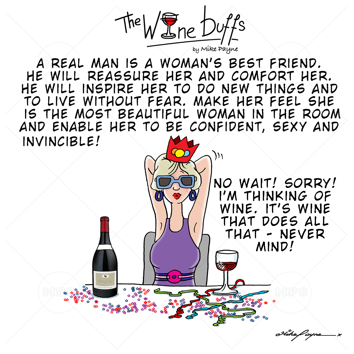 Wine Buffs Cartoon 027